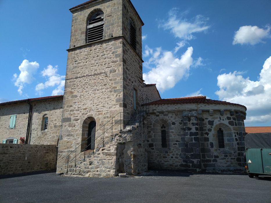Eglise Saint-Marcellin: Ensemble sud-est, vue générale