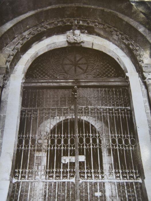 vantaux dits Porte Dorée (grille ouvrante)
