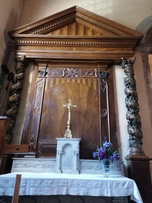 autel et retable