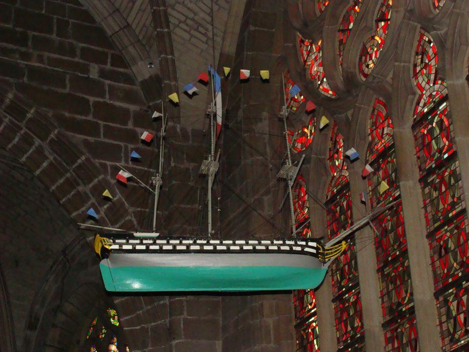 Deux ex-voto (maquettes de bateau) : Le Saint Pierre, L'Assomption