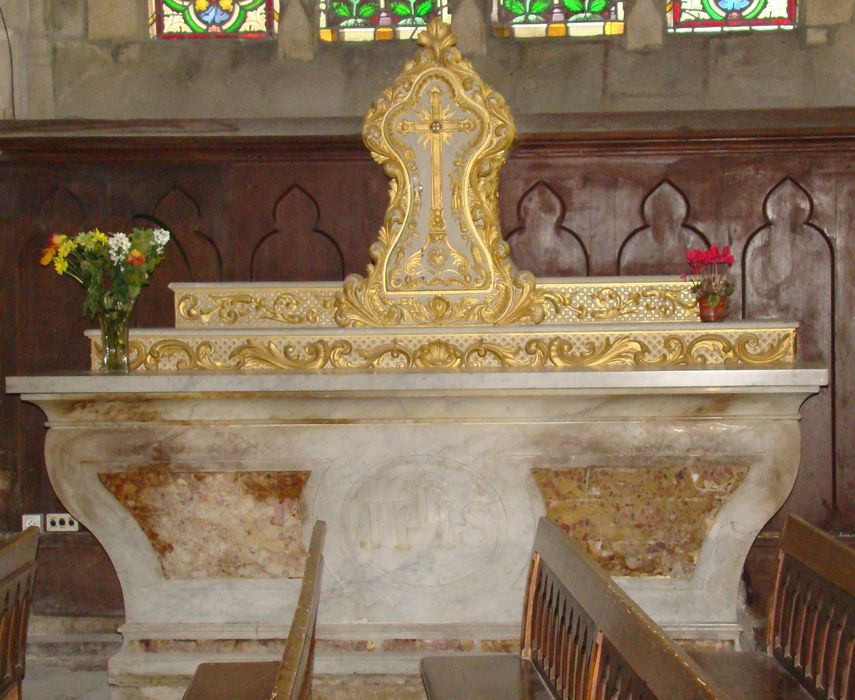 Tabernacle et gradin d'autel