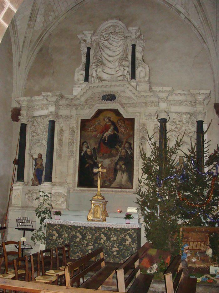 Retable (retable du croisillon Nord du transept)