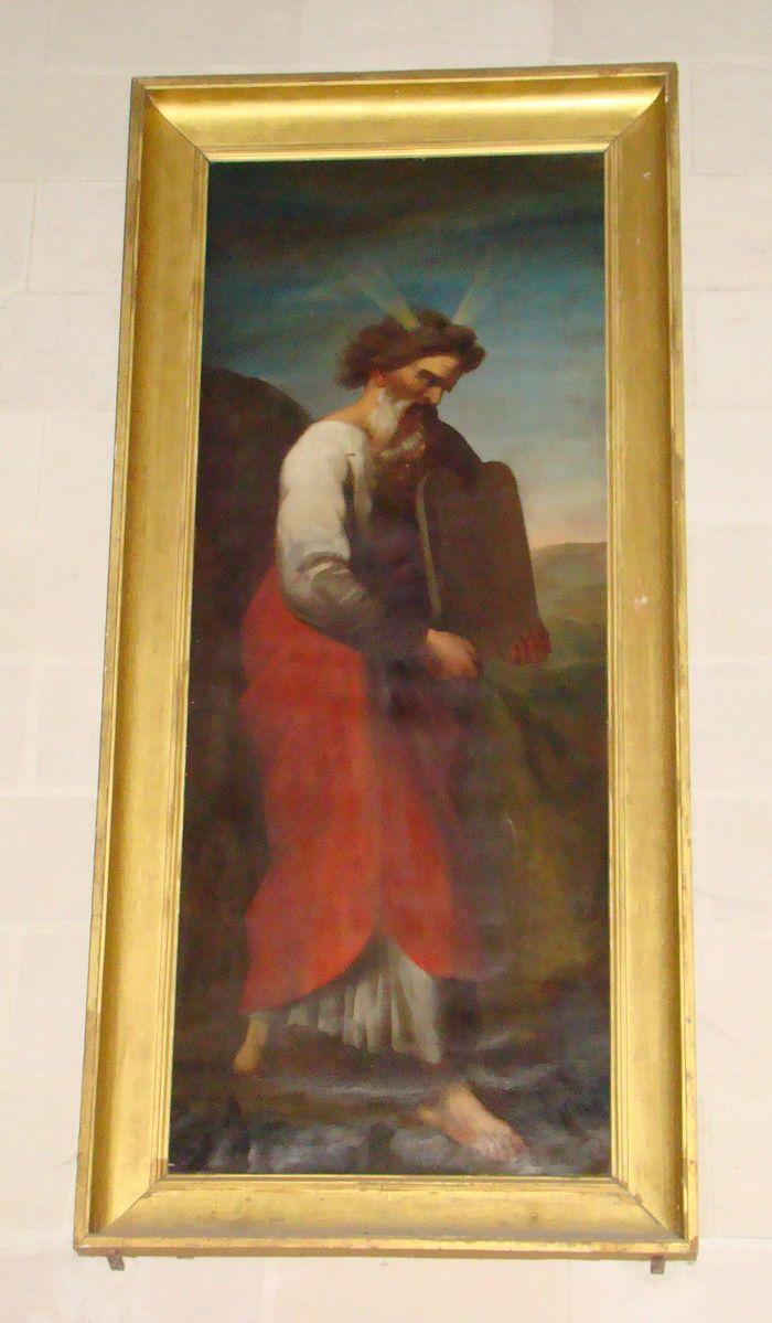 Deux tableaux : Le prophète Moïse, Le prophète Aaron