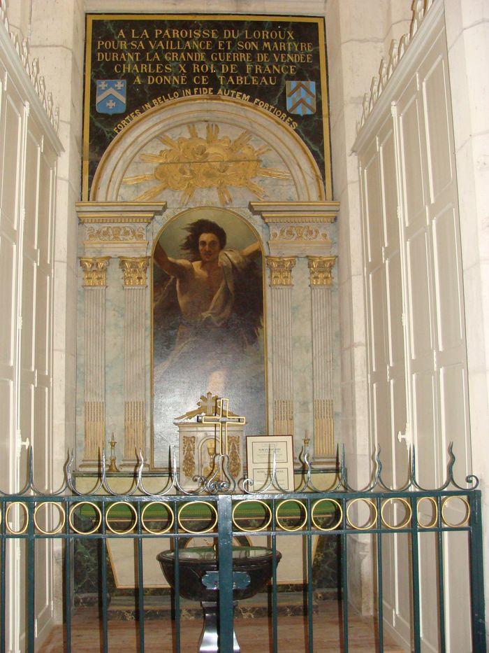 Autel, tabernacle, retable et tableau : Saint-Jean-Baptiste