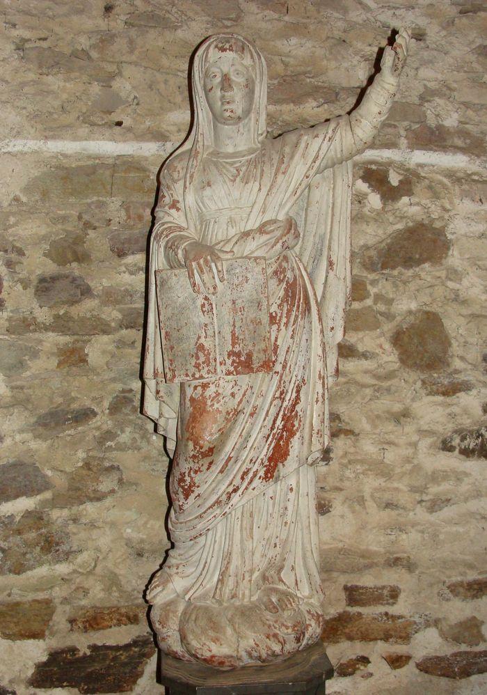 Statue : Sainte Anne ?