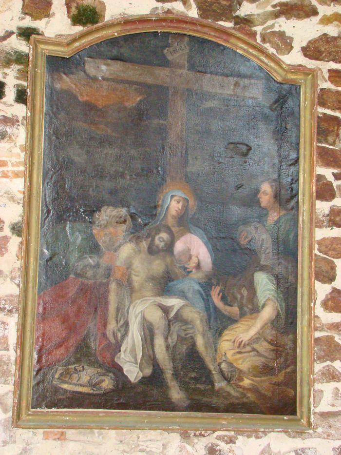 Tableau : Déploration sur le corps du Christ mort