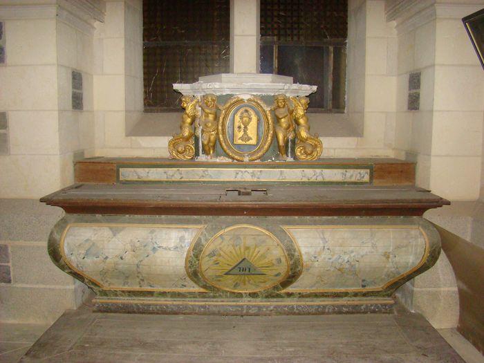 autel de la crypte