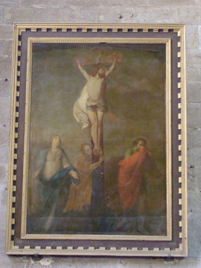 Tableau : Calvaire avec sainte Madeleine