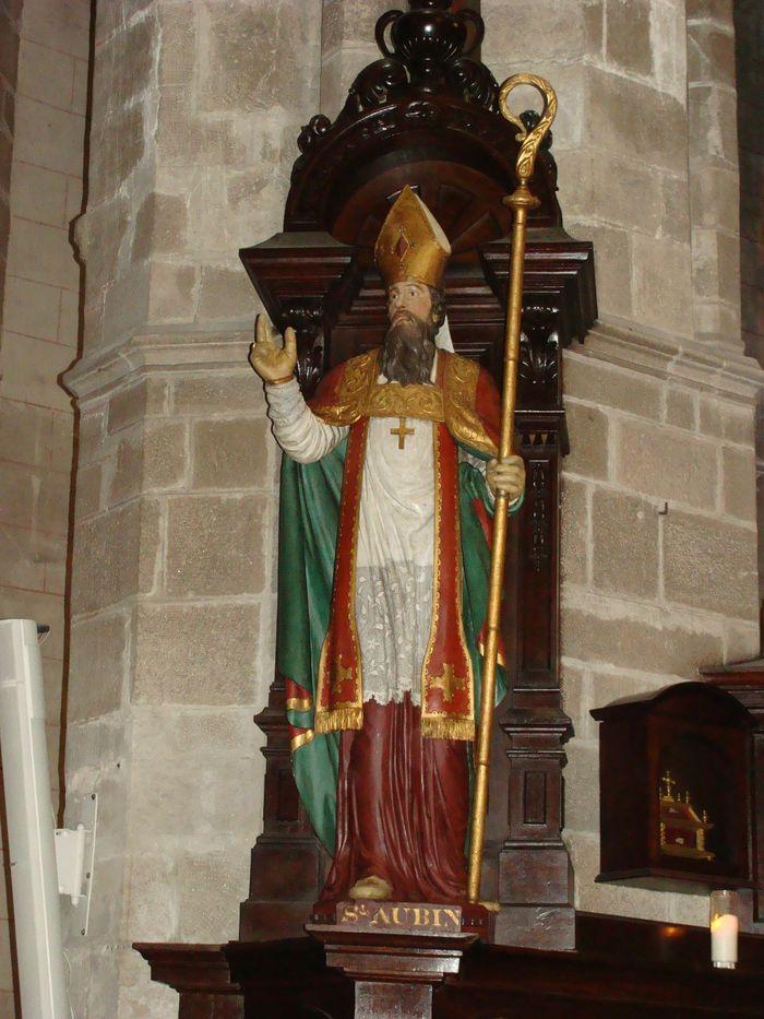 Statue : Saint Aubin