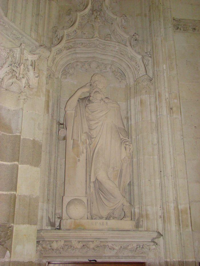 Deux statues : Saint Pierre, Saint Paul