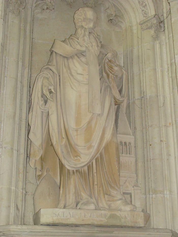 Statue : Saint Clair, premier évêque de Nantes