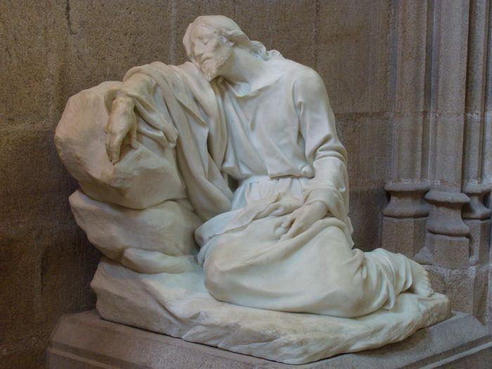 Statue : Le Christ à l'agonie