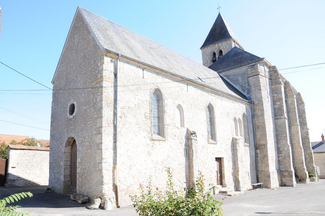 Eglise Saint-Etienne: Flanc sud, vue générale