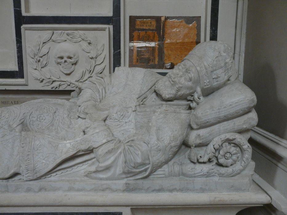 Tombeau de Claude de Rueil, évêque d'Angers (1628-1649)