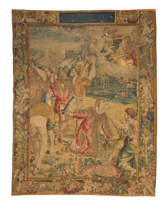 Pièce murale (tapisserie) : Saint Etienne