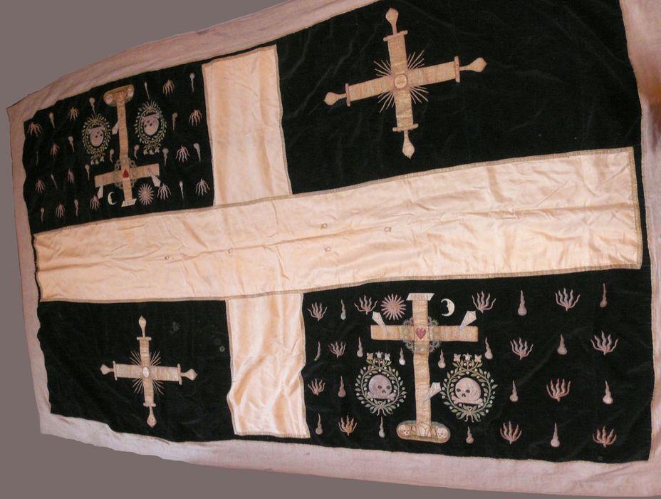 Drap mortuaire de Sainte-Croix d'Angers