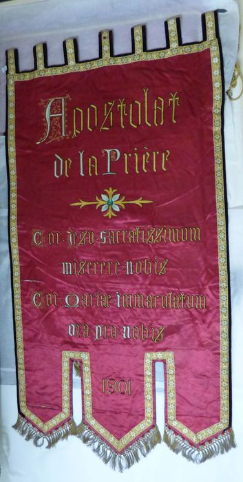 Bannière de l'Apostolat de la Prière