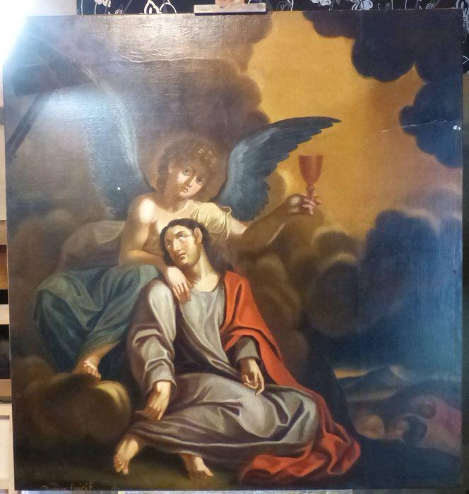 Tableau : Christ au Mont des oliviers