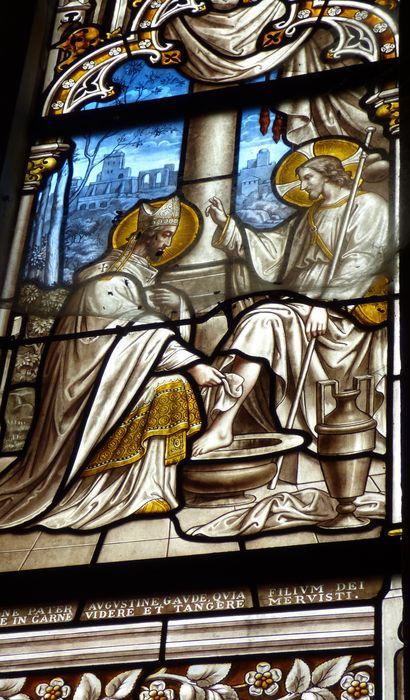 Verrière n°9 dite de saint Augustin