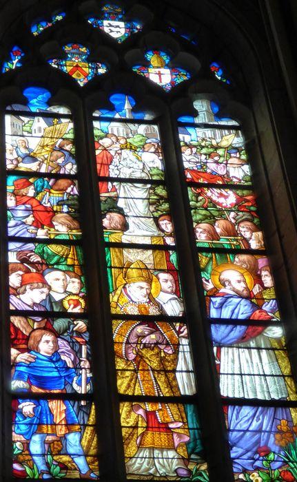 Verrière n°101 dite des Serviteurs de Marie au 17e et 18e siècle