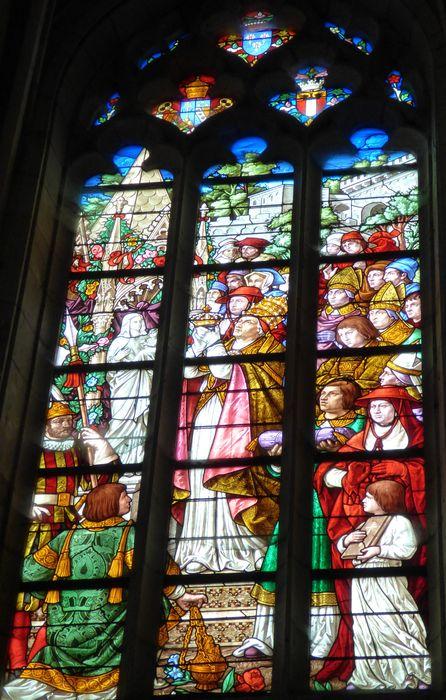 Verrière n°102 dite Notre-Dame Auxiliatrice de Savone