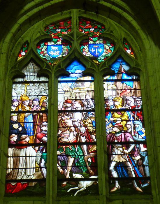 Verrière n°108 dite de Jeanne d'Arc