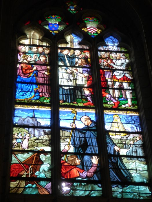 verrière n°109 dite de Notre-Dame de Béhuard