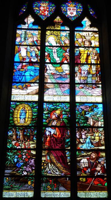 verrière n°115 dite de saint Maurille