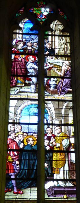 Verrière n°116 dite de saint Ignace de Loyola