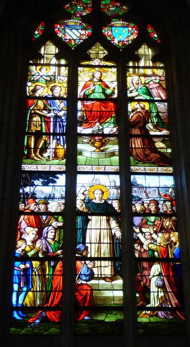 verrière n°118 dite de saint François d'Assise