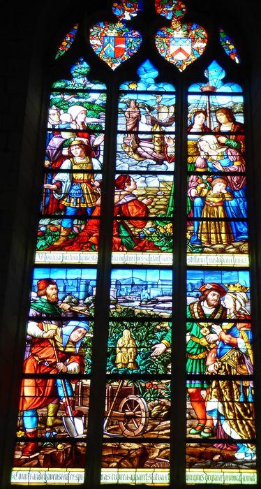 Verrière n°122 dite Notre-Dame de Boulogne