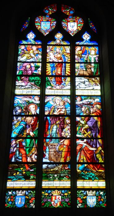 verrière n°124 dite Notre-Dame du Pilar