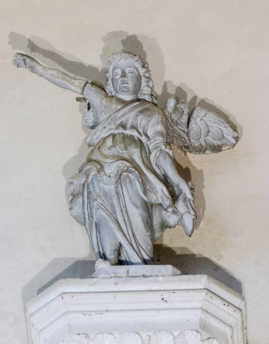 statue (groupe sculpté) : Ange de l'Annonciation