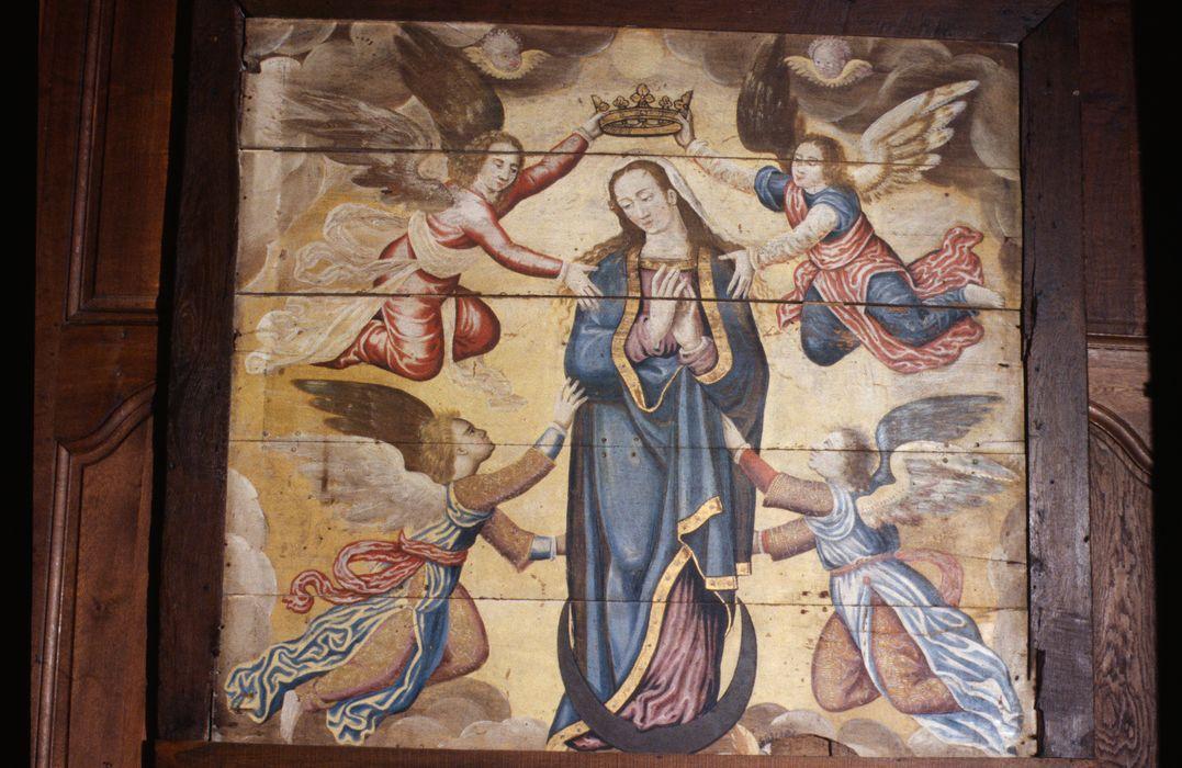 tableau : Couronnement de la Vierge