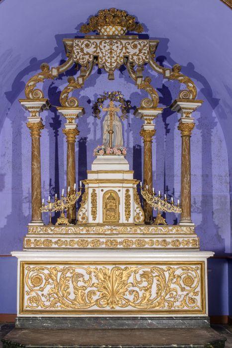 autel, tabernacle et baldaquin du maître-autel