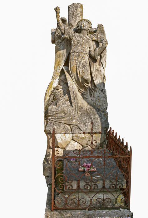 tombeau (tombe) de la famille François, dite à l'ange de Résurrection
