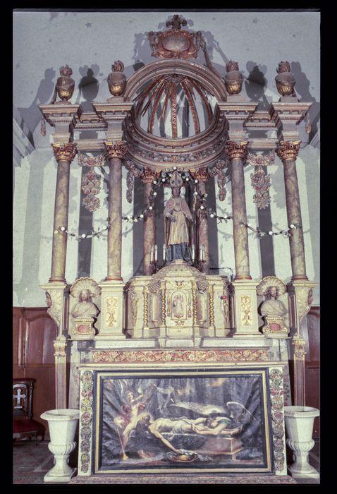 maître-autel, baldaquin et antependium