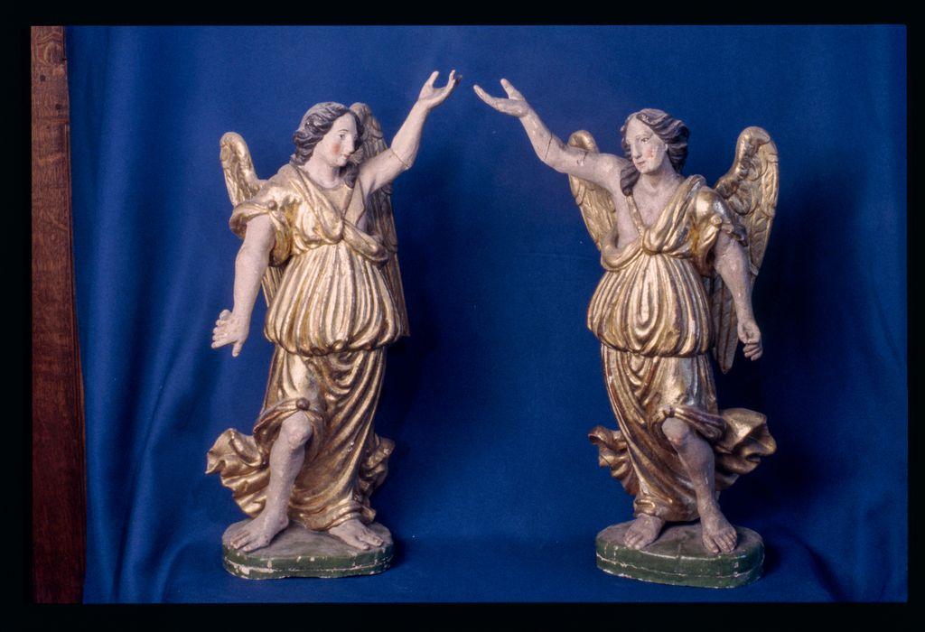 statues (statuettes) : Anges adorateurs