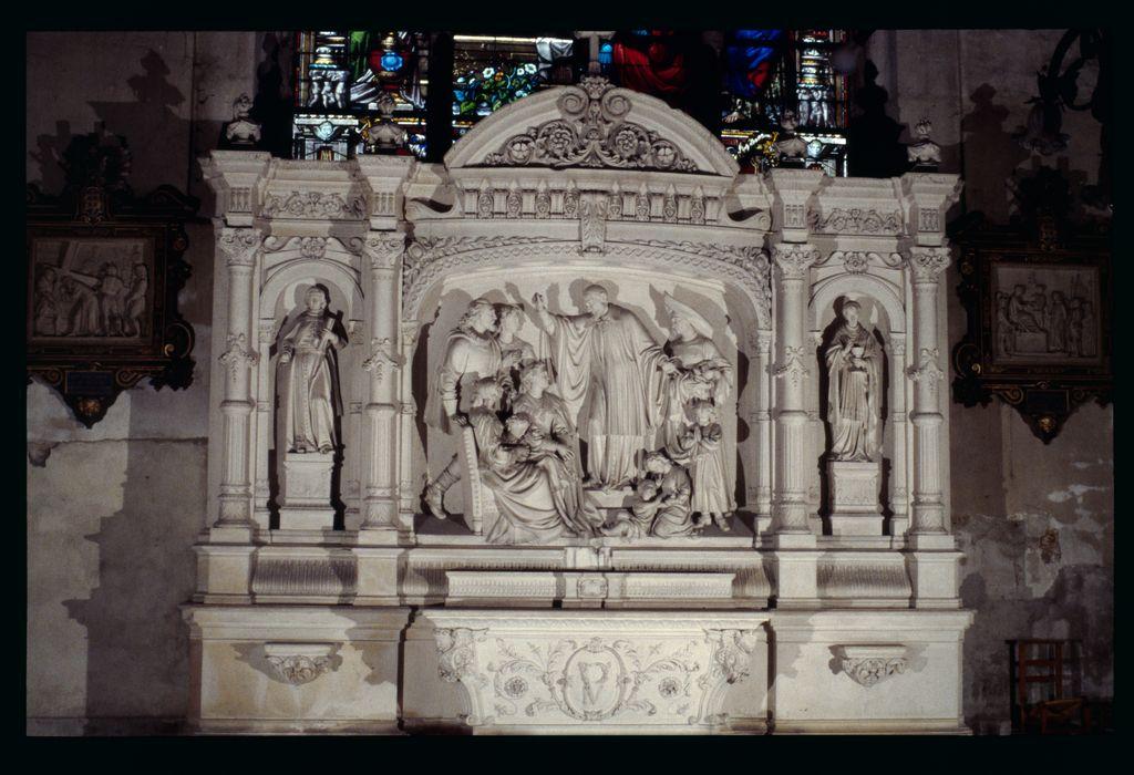 autel et retable Saint-Vincent de Paul