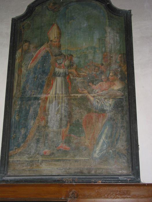 tableau, cadre : Charité de saint Nicolas ou Dot des trois jeunes filles