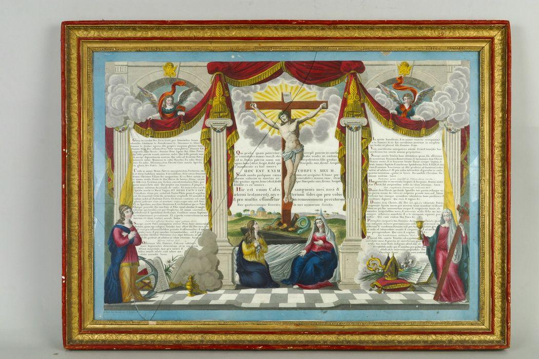 canon d'autel (canon liturgique) n°1