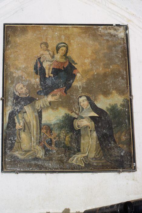 tableau : Institution du Rosaire