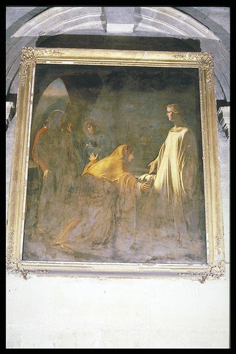Tableau : Les Saintes Femmes au tombeau (ou Les Saintes Femmes au Sépulcre après la Résurrection) et son cadre