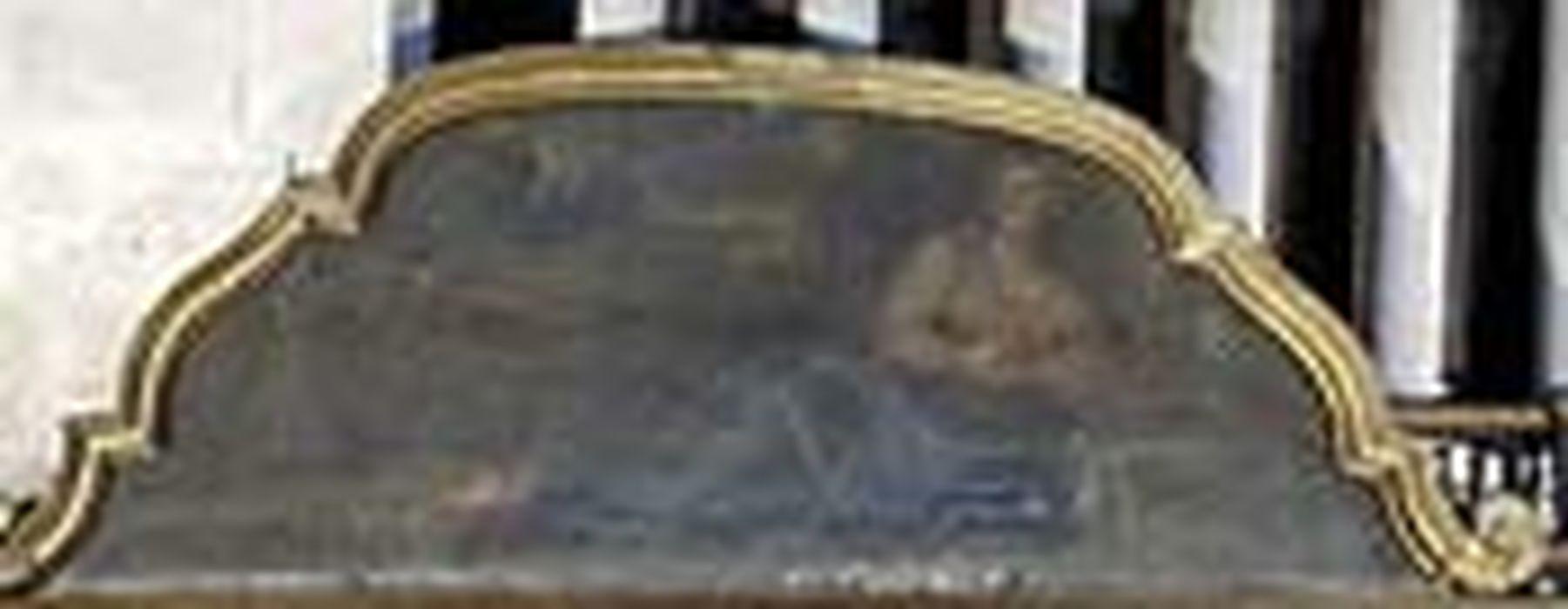 Tableau : Sainte Madeleine en prière et son cadre