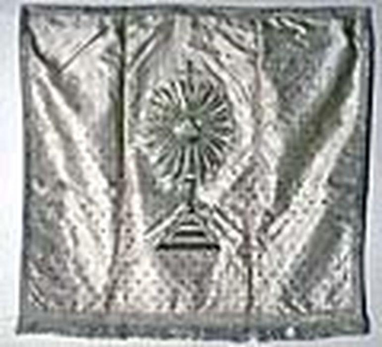 voile de calice, dit pavillon du Saint-Sacrement