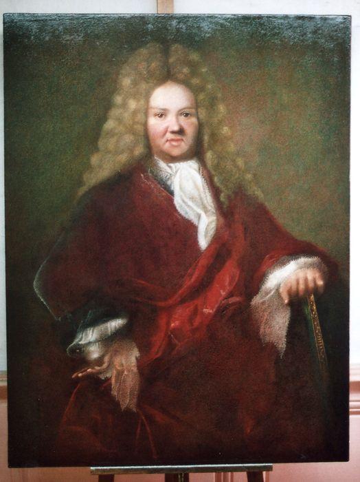 tableau : Portrait d'homme dit monsieur de Capdeville