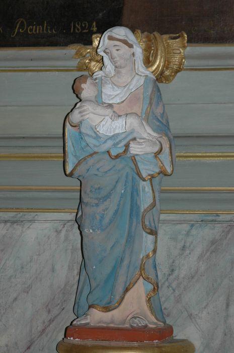 Statue : Vierge à l'Enfant dite Notre-Dame de la Clarté