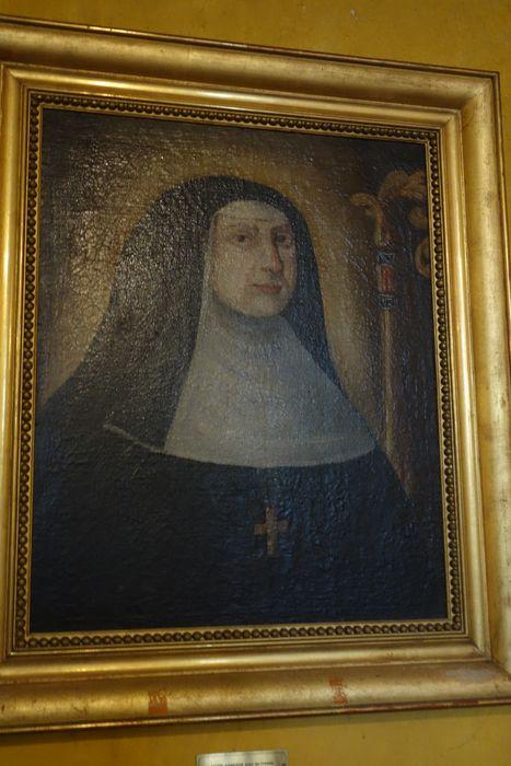 Tableau : Portrait de sainte Jeanne de Chantal