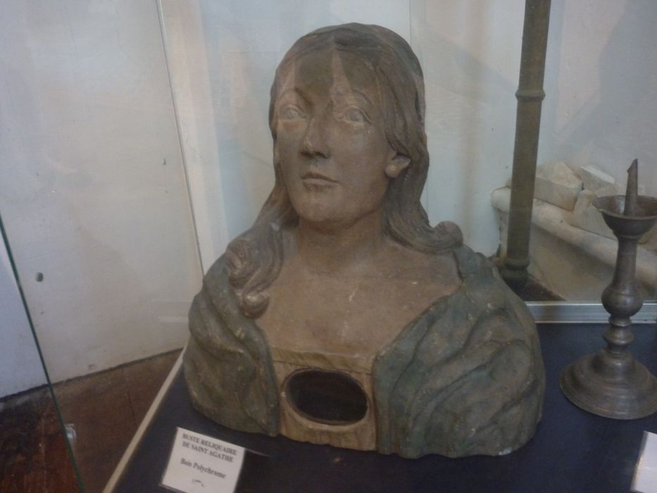 Buste-reliquaire de sainte Agathe