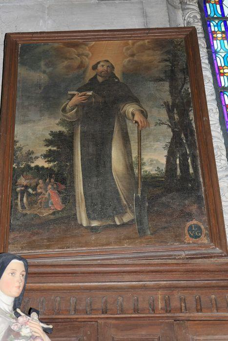 Tableau : Saint Fiacre